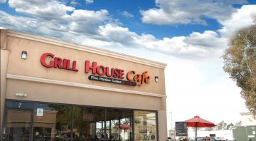 Grill House Cafe Outside Photo